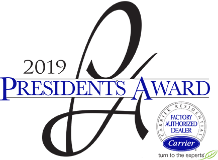 carrier presidents award winner
