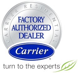 carrier factory authorized dealer symbol